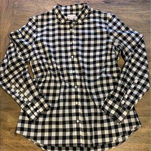 J.Crew 100%cotton button down shirt size 12
